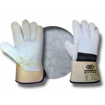 12 pairs cow leather kevlar sewn gloves Mod. Terra KV